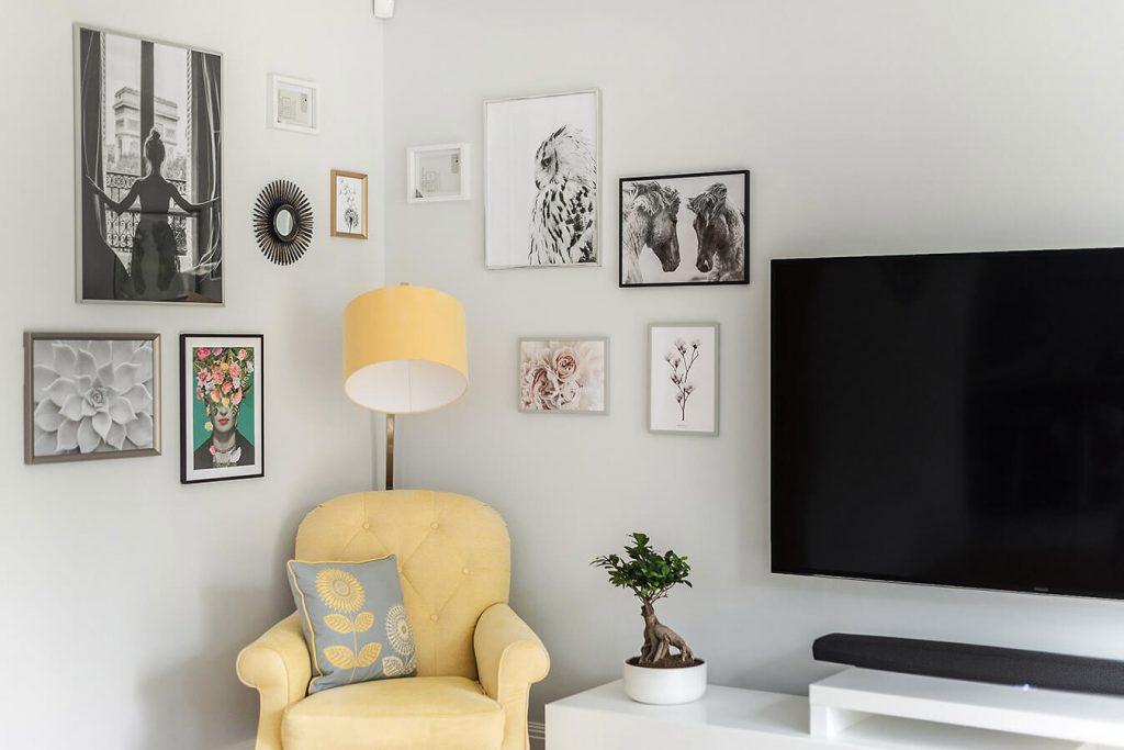 tv room modern decoration