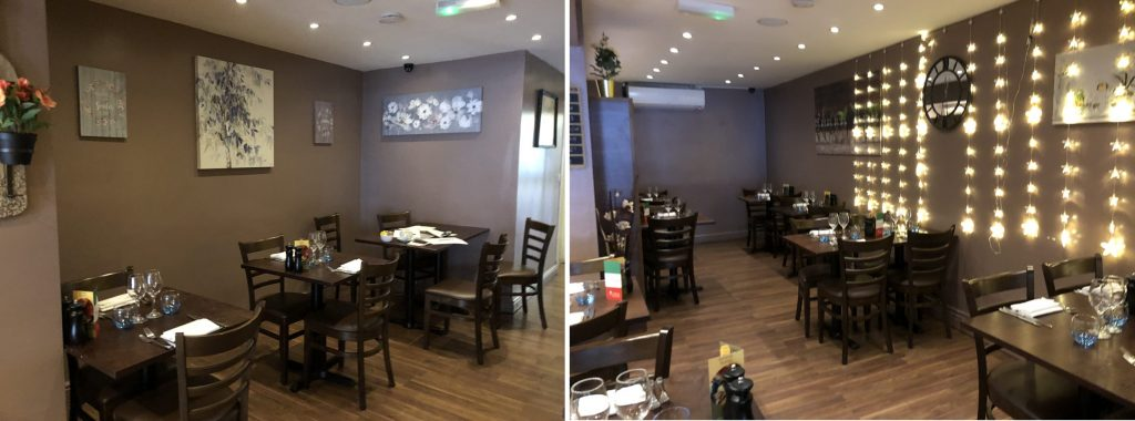 restaurant styling decoration