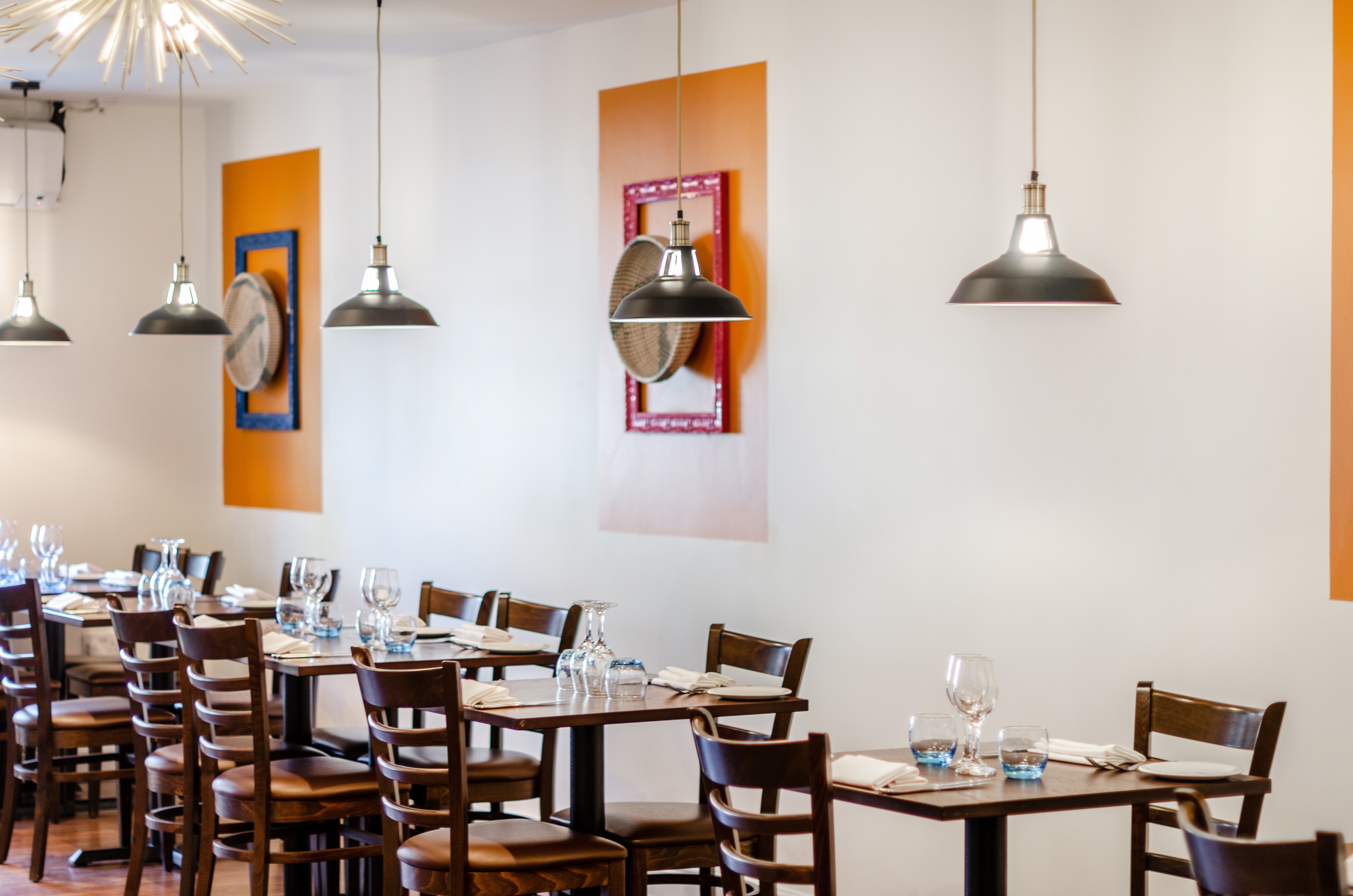 comercial styling restaurant